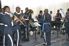 Malawi police band insipires the gathering during the presentation of Nomination papers at Comesa in Blantyre-(c) Abel Ikiloni, Mana.