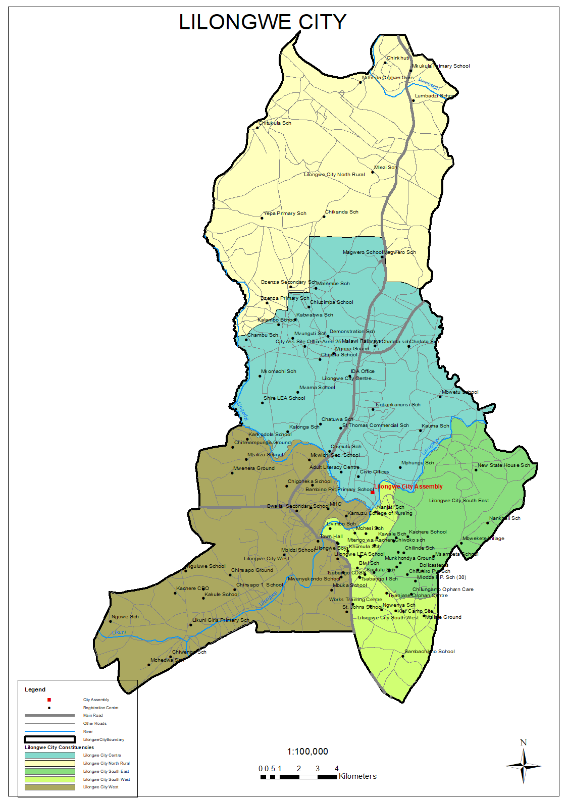 Maps – Malawi Electoral Commission Sch Maps on